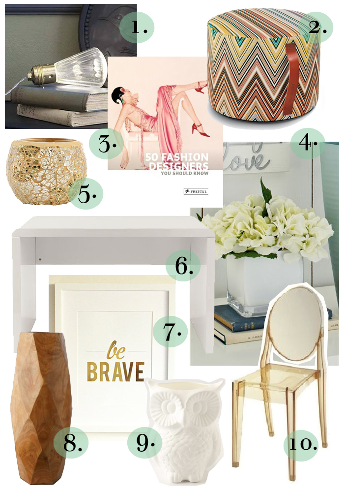 Today I'm sharing how you can create a glamorous home office, with interior inspiration, luxe textures and gold finishes.