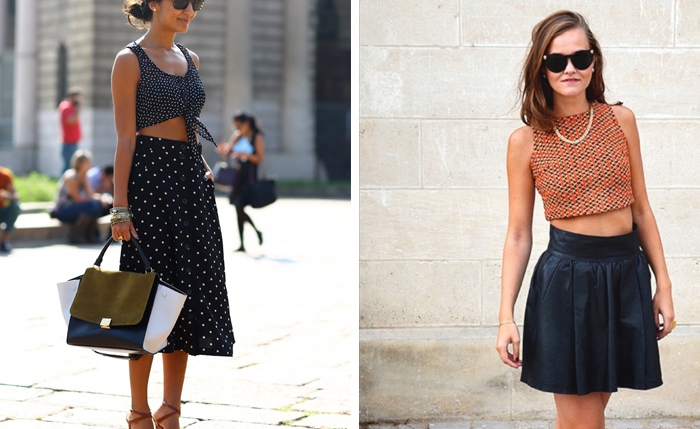 Today I'm sharing some wardrobe outfit inspiration, looking at how to wear and crop top and midi skirt effortlessly.