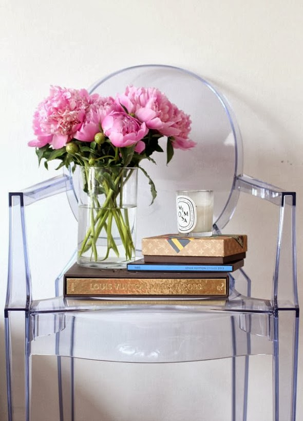 A LITTLE LOVE FOR LOUIS CLEAR GHOST CHAIRS