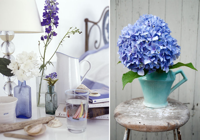 CORNFLOWER BLUE INTERIOR INSPIRATION