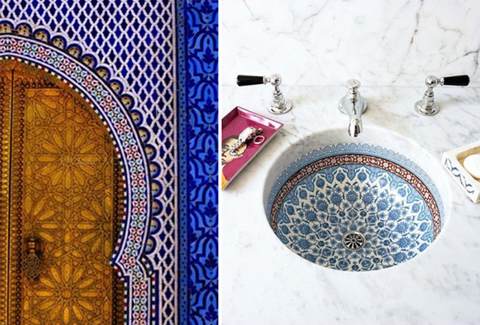 Interior Obsession Moroccan Tiles
