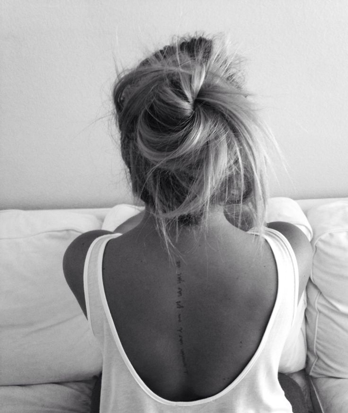 Small Of The Back Tattoo: EIGHTEEN DELICATE TATTOOS