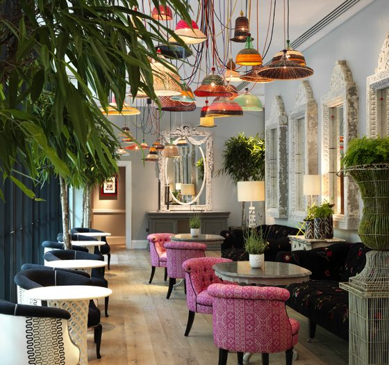 Ham Yard Hotel London Interior Design