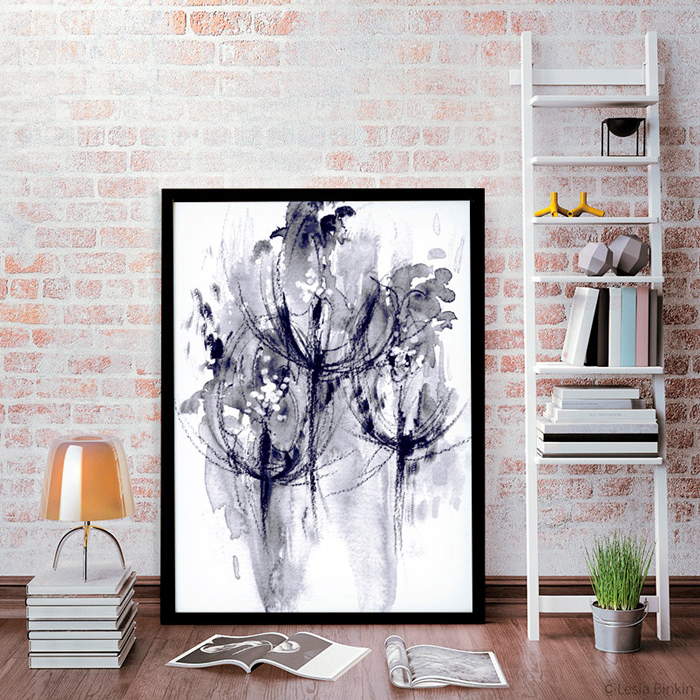 Today I'm sharing oversized black and white wall art ideas for your home, a trend which has proven itself to be timeless in interior design.