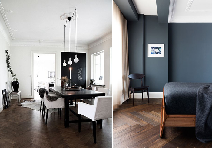 Has Dark Wooden Flooring Caught Your Attention As Much It Mine Is Something You See Working In Home Right Now
