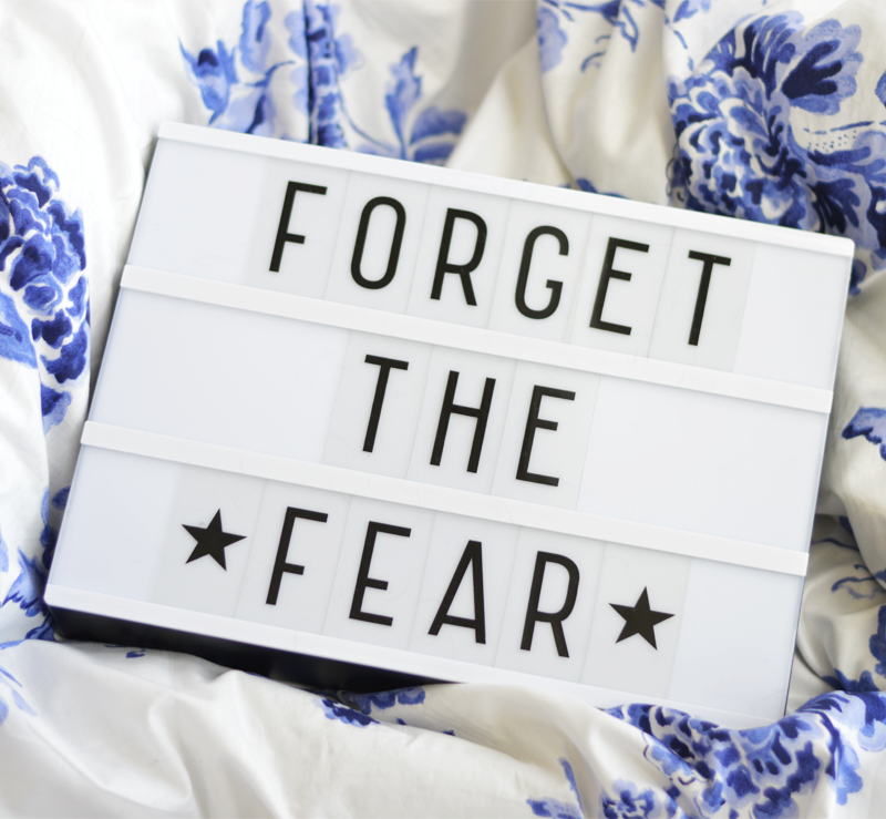 WHY YOU SHOULD STOP FEELING FEARFUL AND START TAKING MORE RISKS