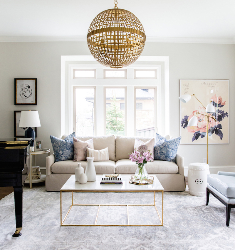 HOW TO CREATE YOUR DREAM LIVING ROOM