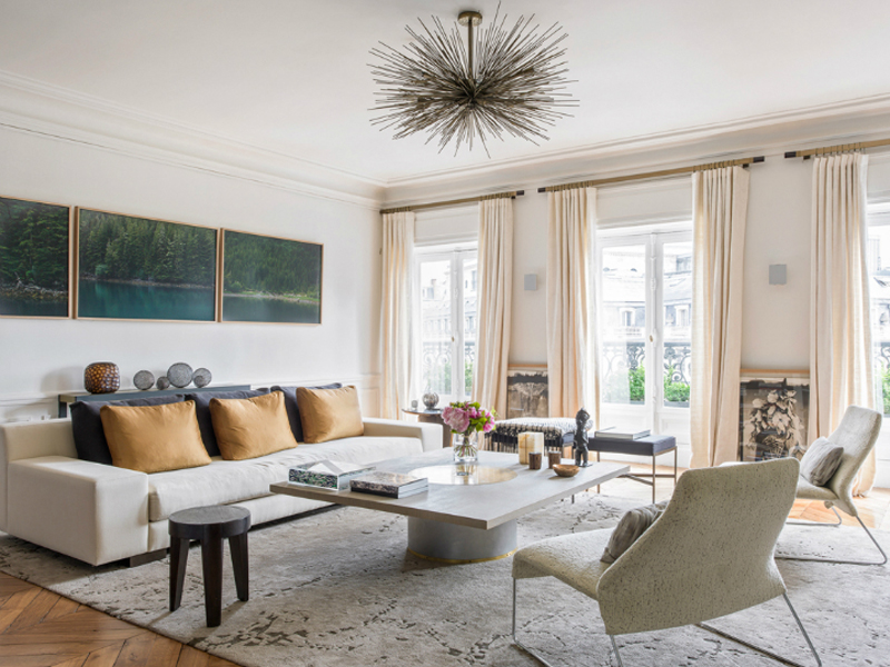 How to create a parisian style apartment apartment number 4 for Modern french furniture