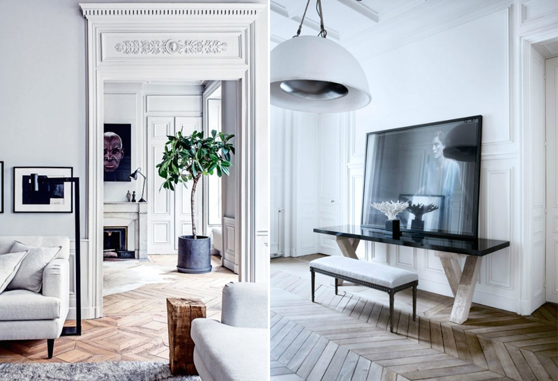 HOW TO CREATE A PARISIAN STYLE APARTMENT