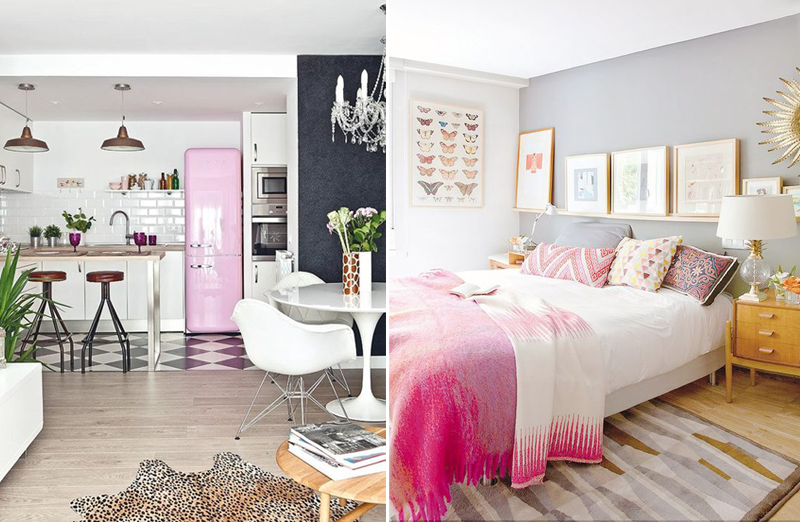 MODERN FEMININE INTERIOR DESIGN IDEAS