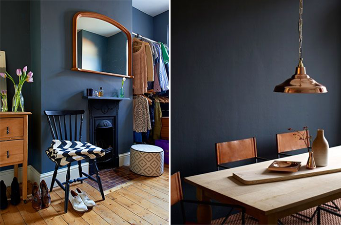 HOW TO DECORATE WITH DARK PAINT IN YOUR HOME