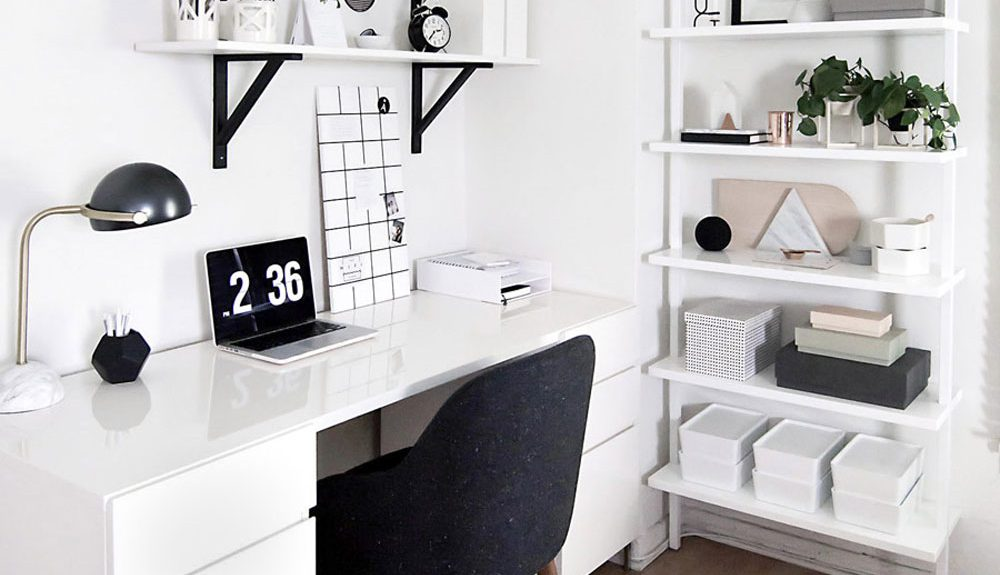 11 black white scandinavian office decor ideas for Your inspiration at home back office