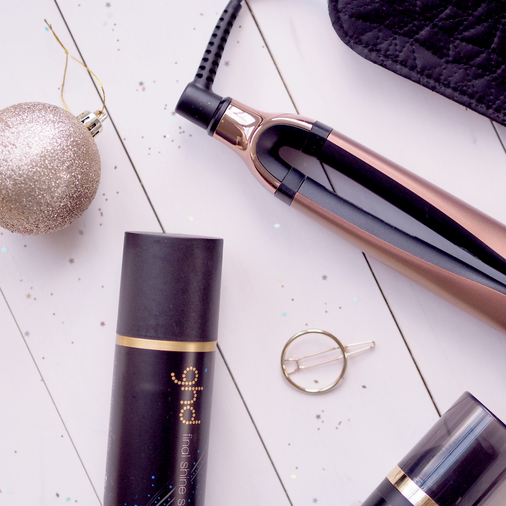 How to create curls in your hair with ghd straighteners