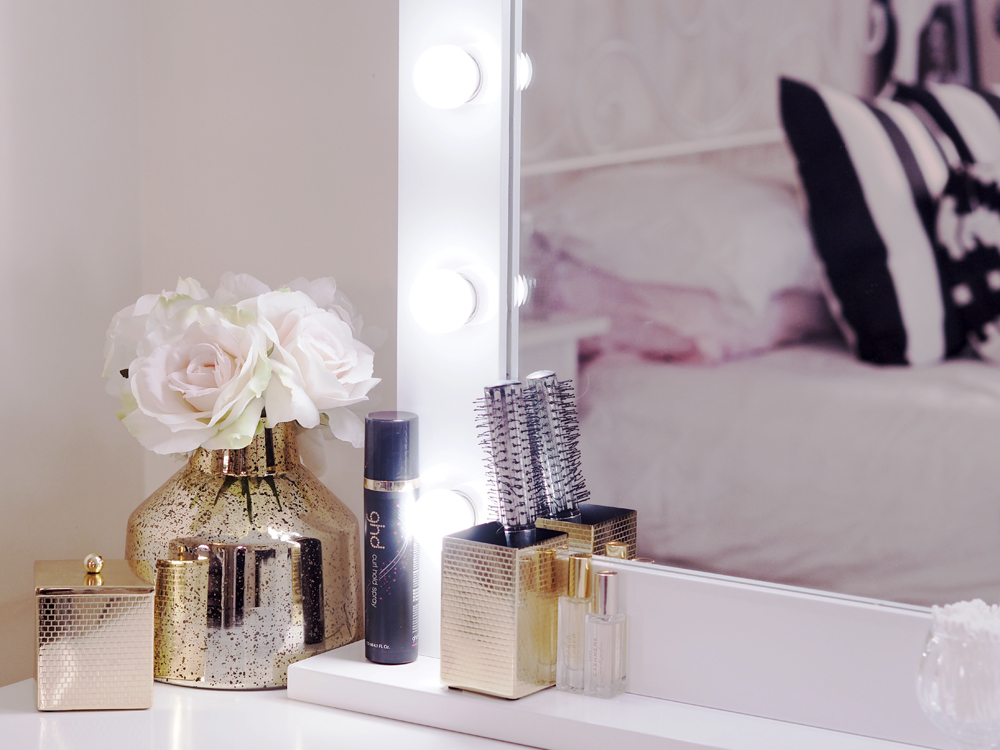A tour of my pinterest worthy dressing table apartment for Gumtree beauty table