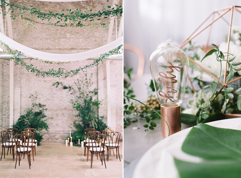 12 Beautiful Greenery Wedding Decor Ideas for 2017.