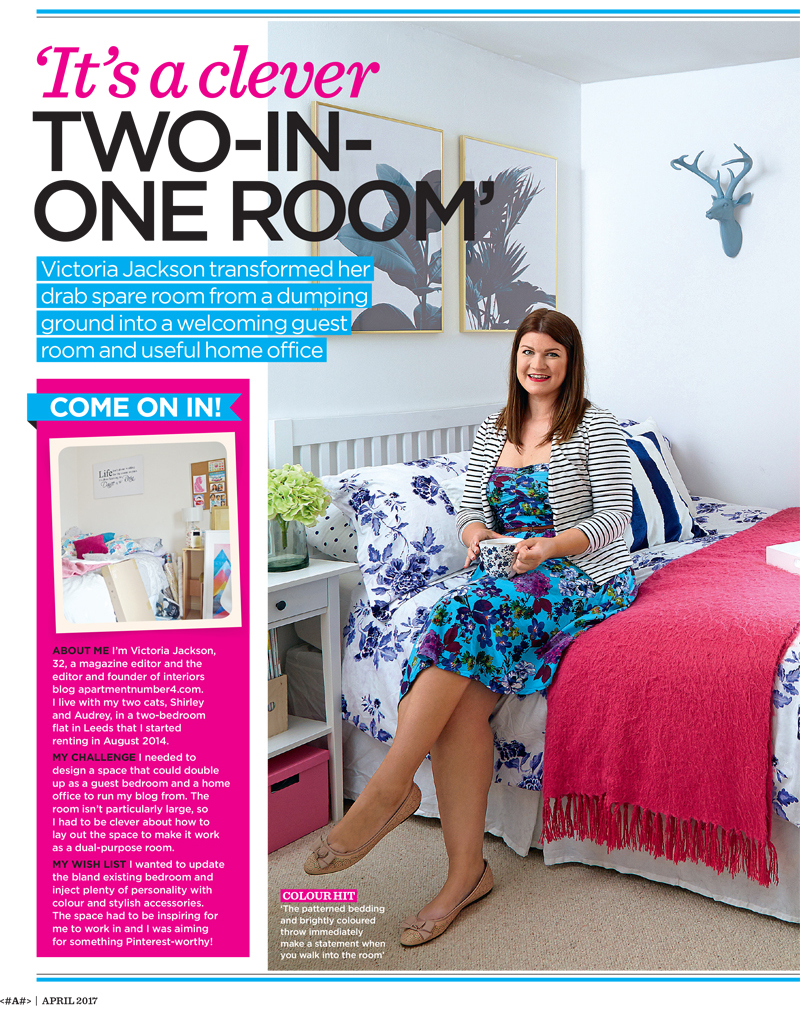 featured in style at home magazine