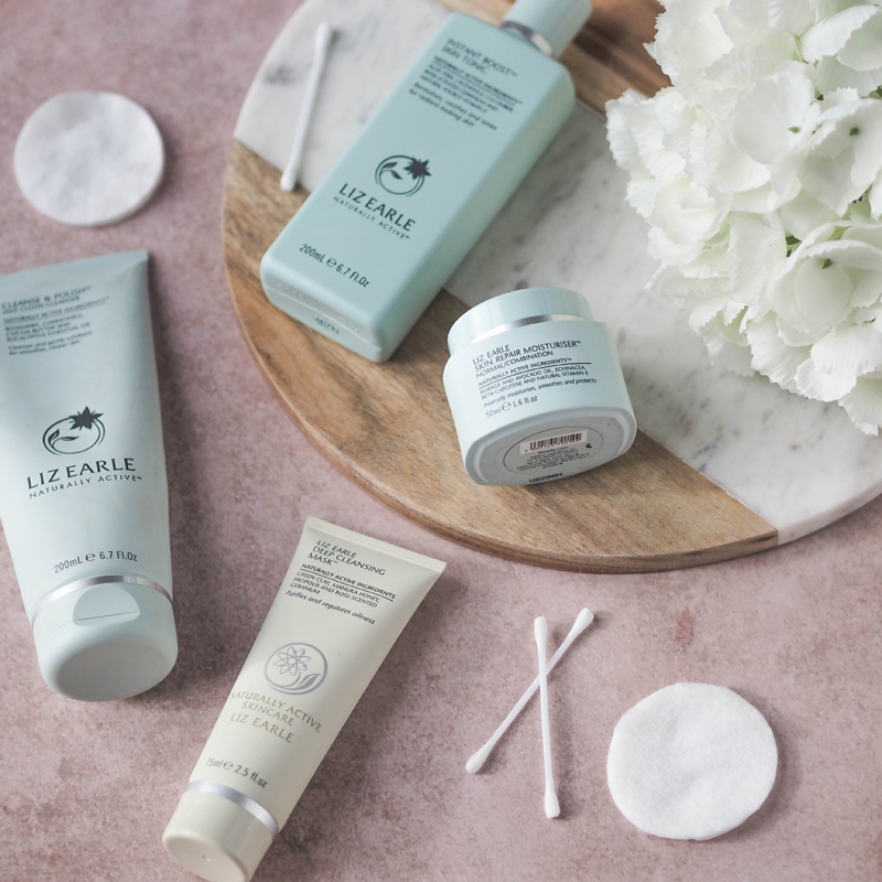 LIZ EARLE SKINCARE ROUTINE REVIEW