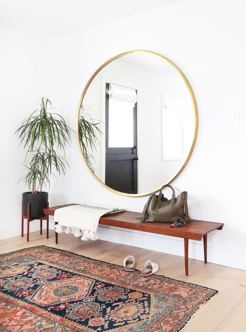 We showcase ten ways you can style a round mirror in your own home, as well as six circle mirrors you can buy on the high street right now.