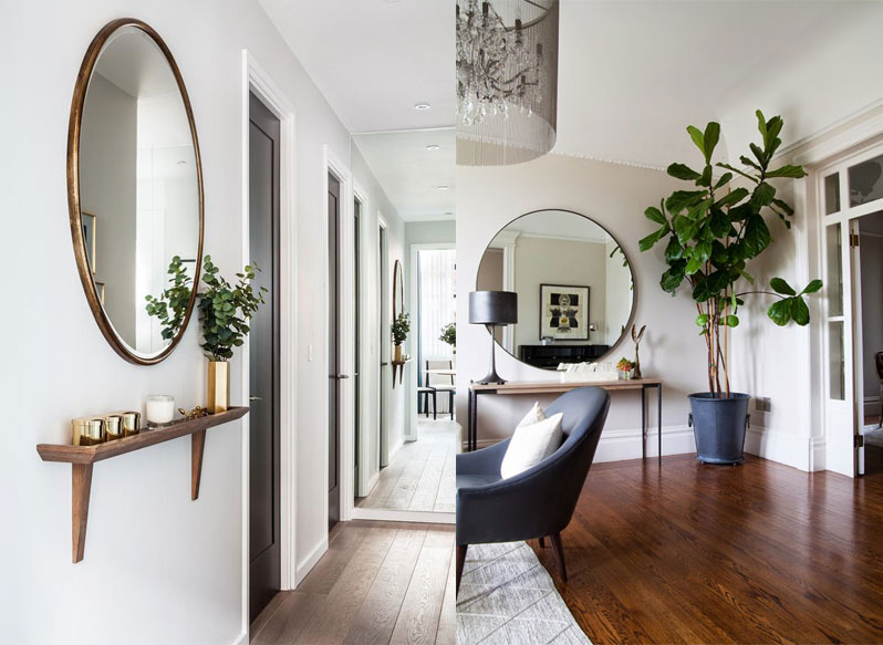10 Ways To Decorate With Round Mirrors