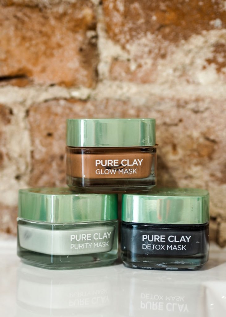 L'oreal Pure Clay Mud Masks
