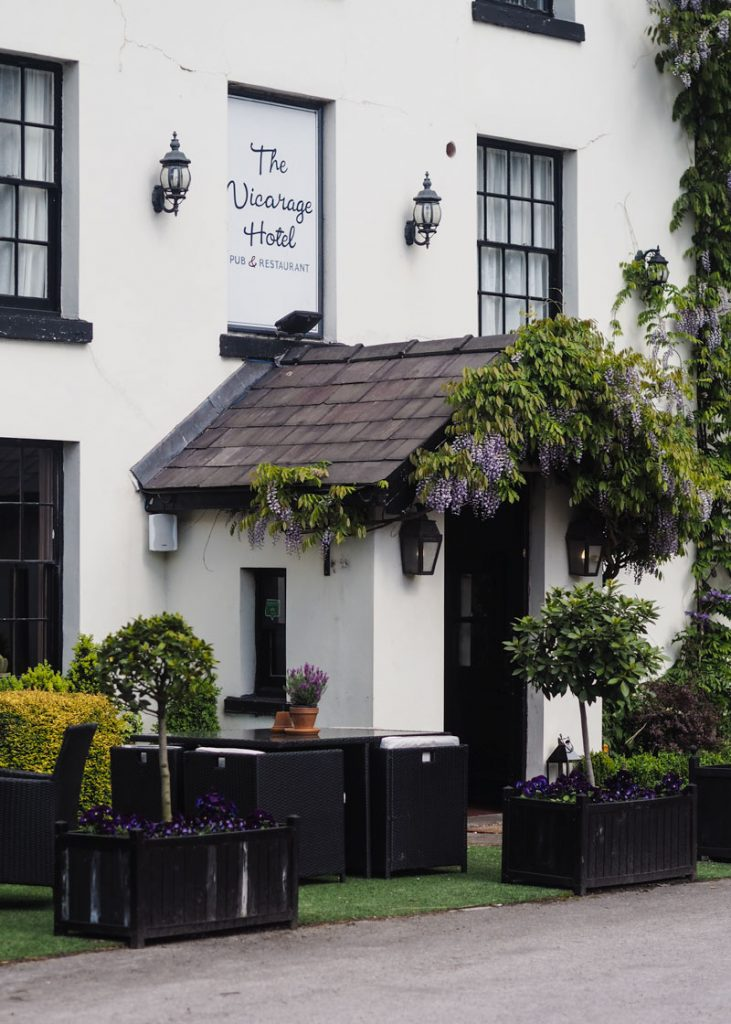 The Vicarage Hotel in Cheshire