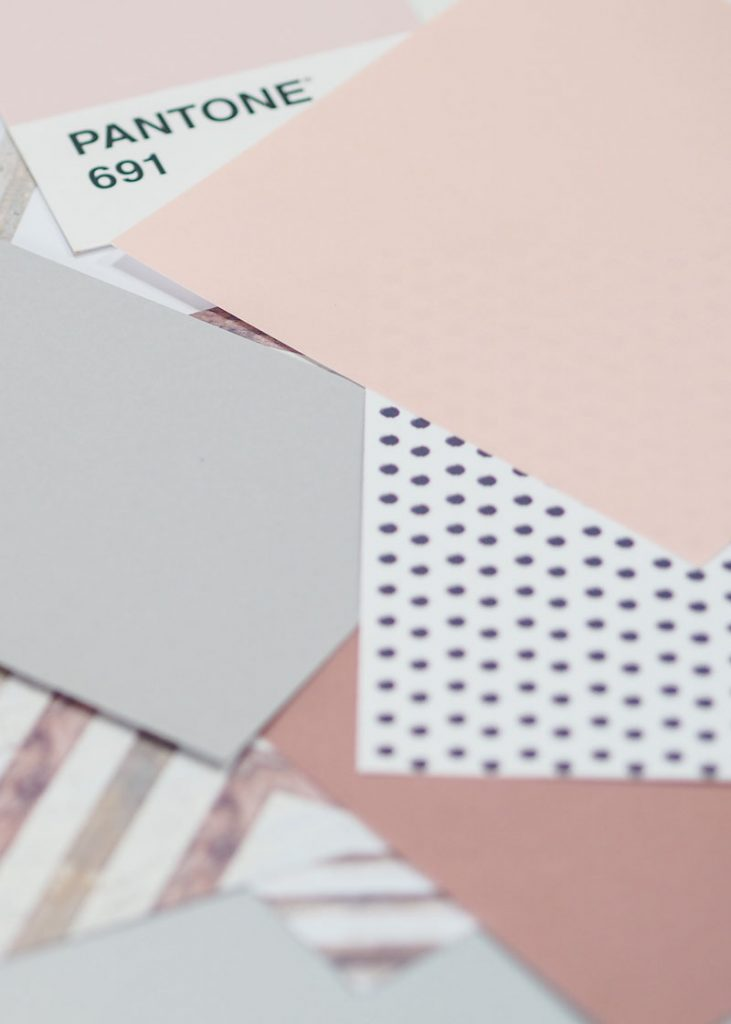 Interior Design Pantone Colour Charts