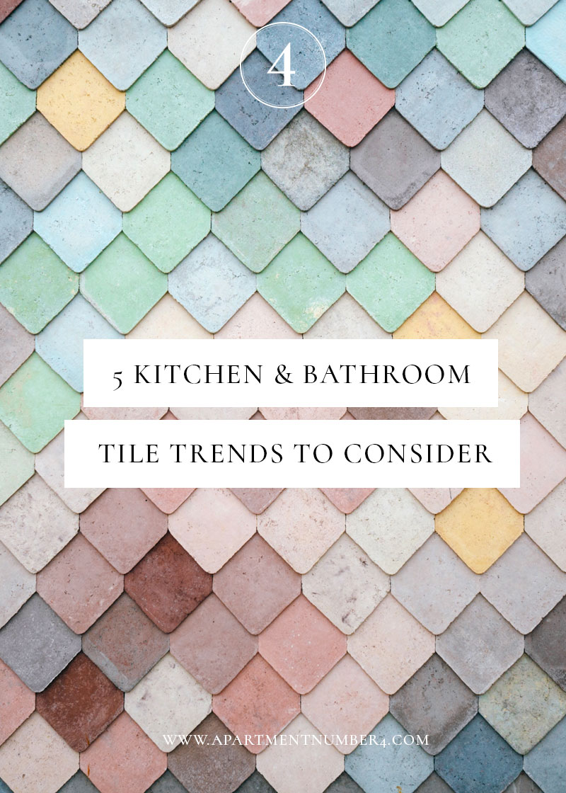5 kitchen bathroom tile trends for 2017 apartment number 4 for Tile trends 2017 bathroom