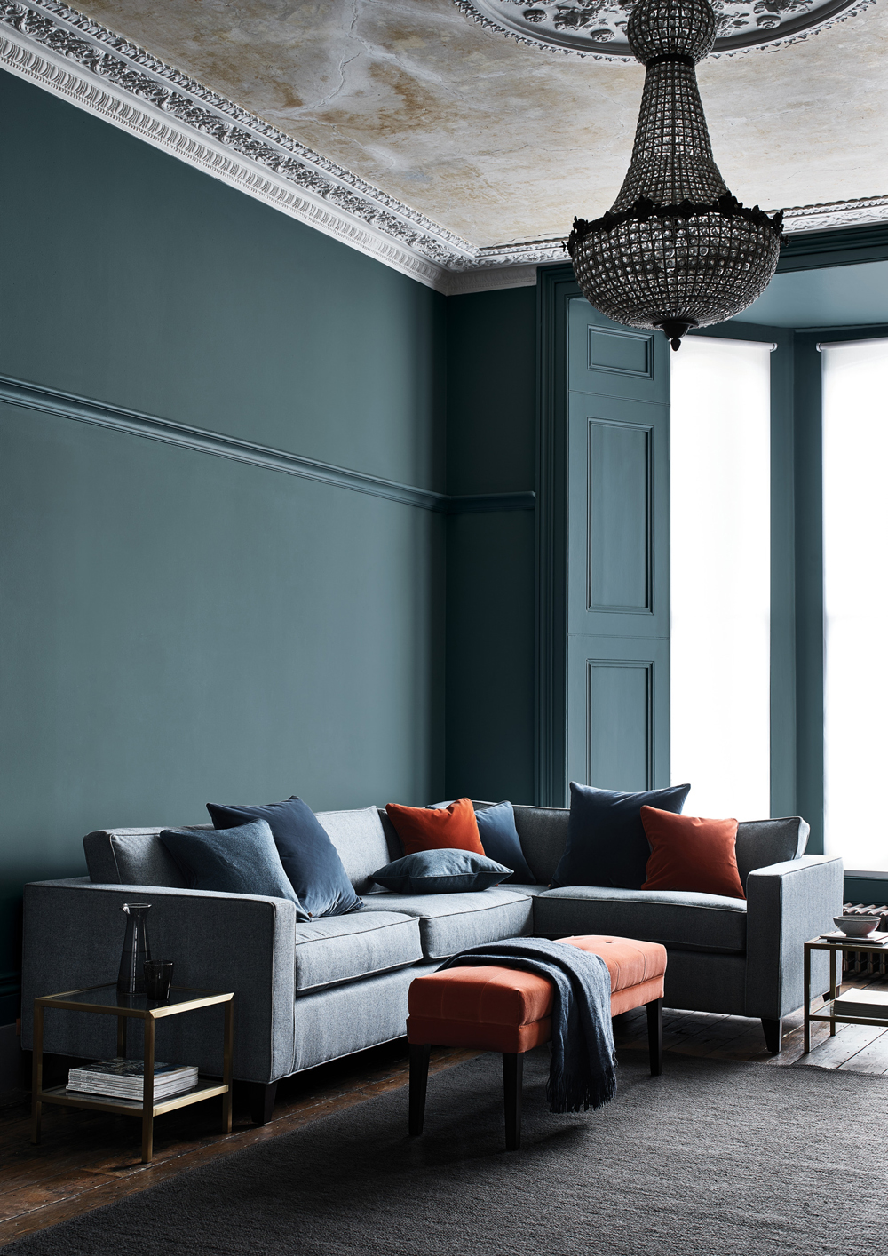 Shoreditch Design Rooms: Dark And Dramatic Interior Design Inspiration