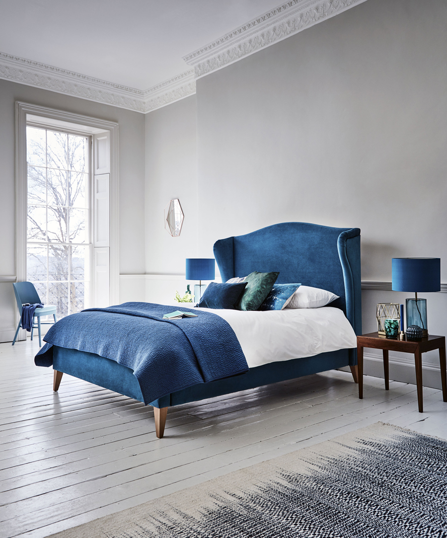 Today we're partnering with British furniture company, Willow & Hall, to share 7 ways of how to turn your bedroom into a relaxing sanctuary.