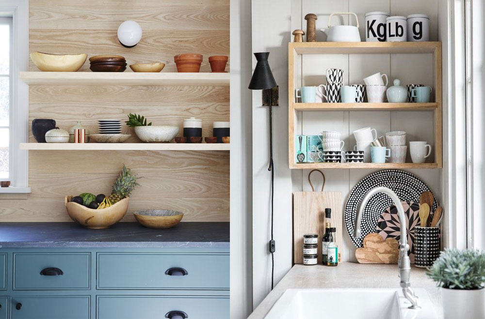 Shelving ideas for kitchen