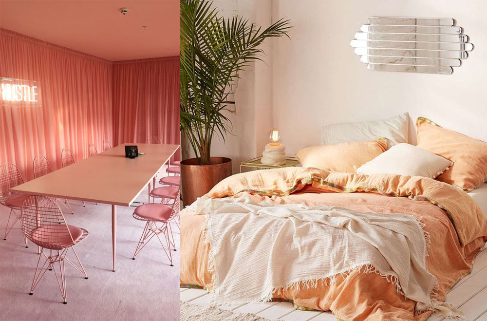 Using coral in your home interiors