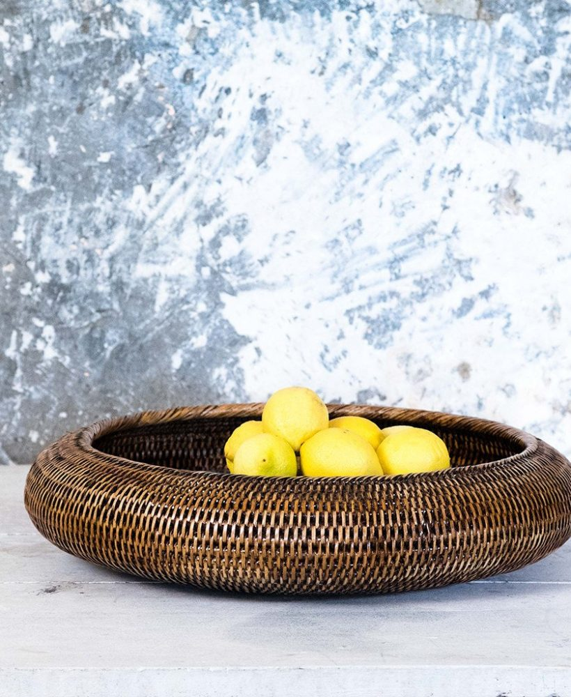 Woven Bowl from Burmese homeware brand Kalinko
