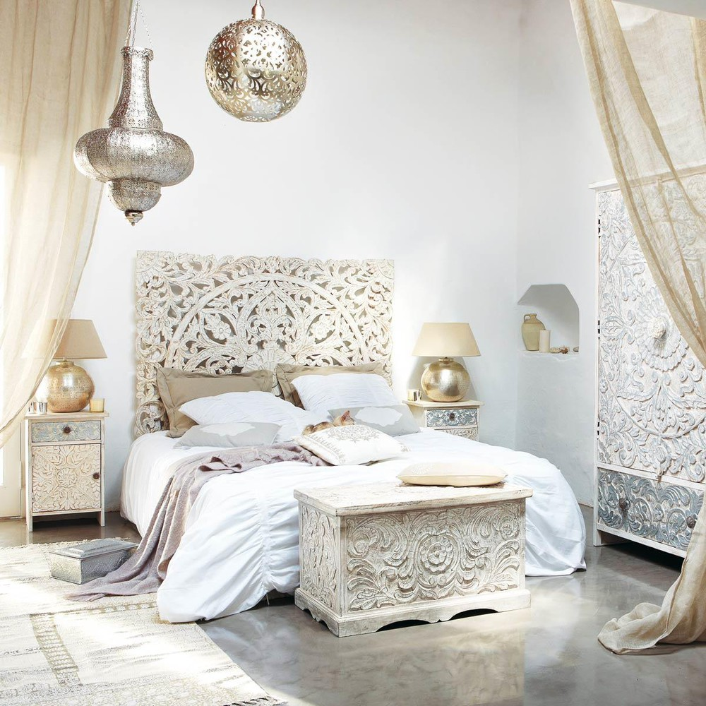 Moroccan Bedroom Interior Inspirarion