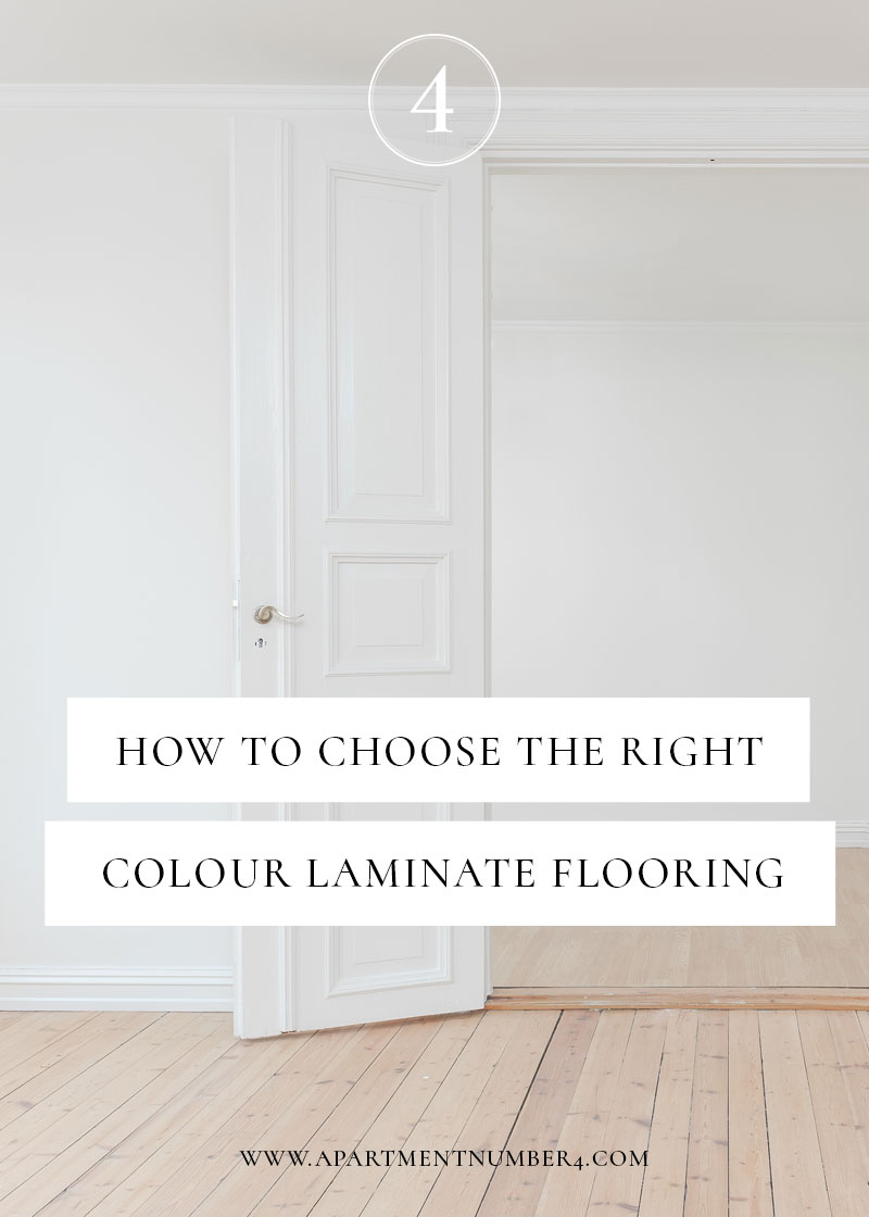 How to choose the right colour laminate flooring for your home