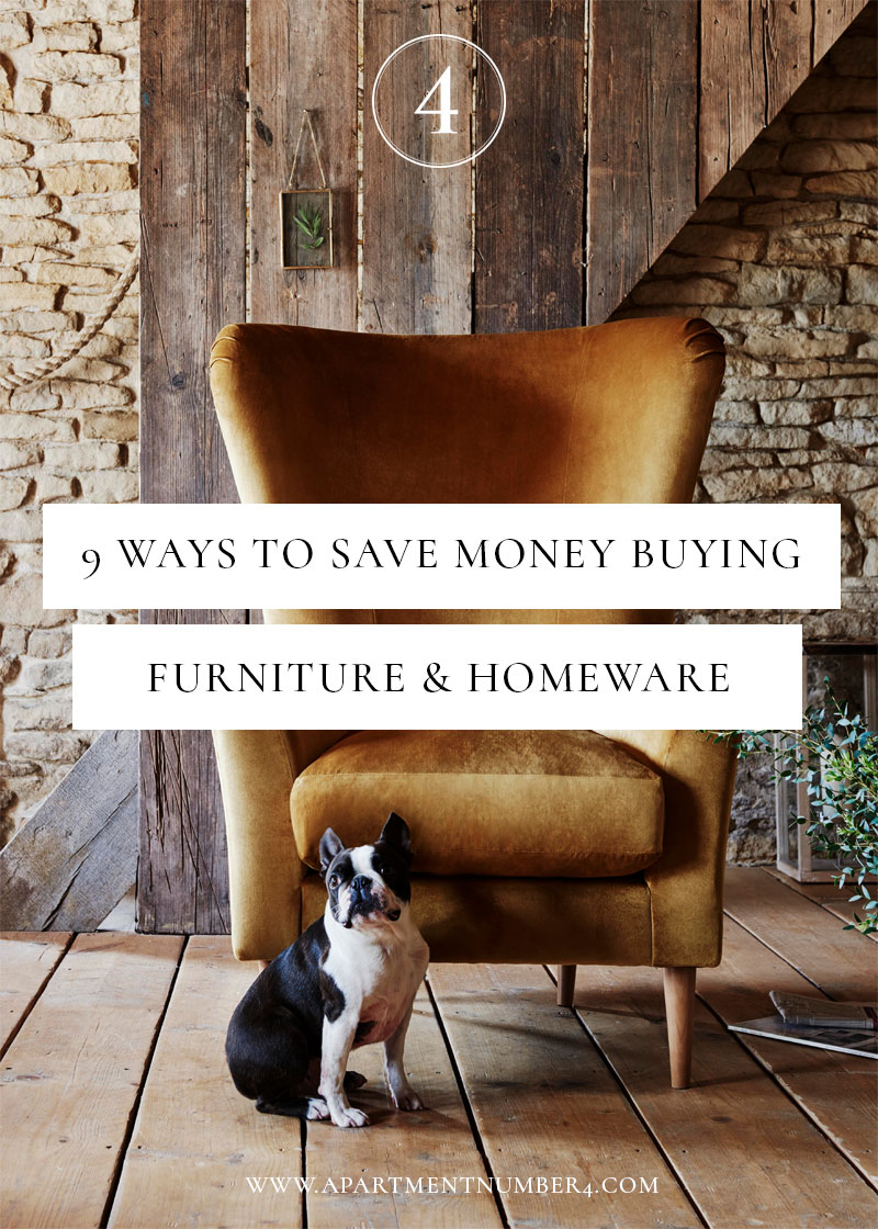How to save money buying homeware furniture apartment for Best place to buy furniture for first apartment