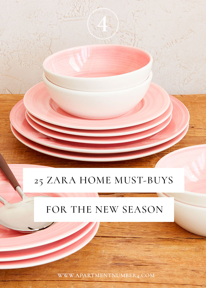 Today I'm sharing 25 of the best pieces of homeware and interiors design trends from Zara Home for autumn/winter 2017.