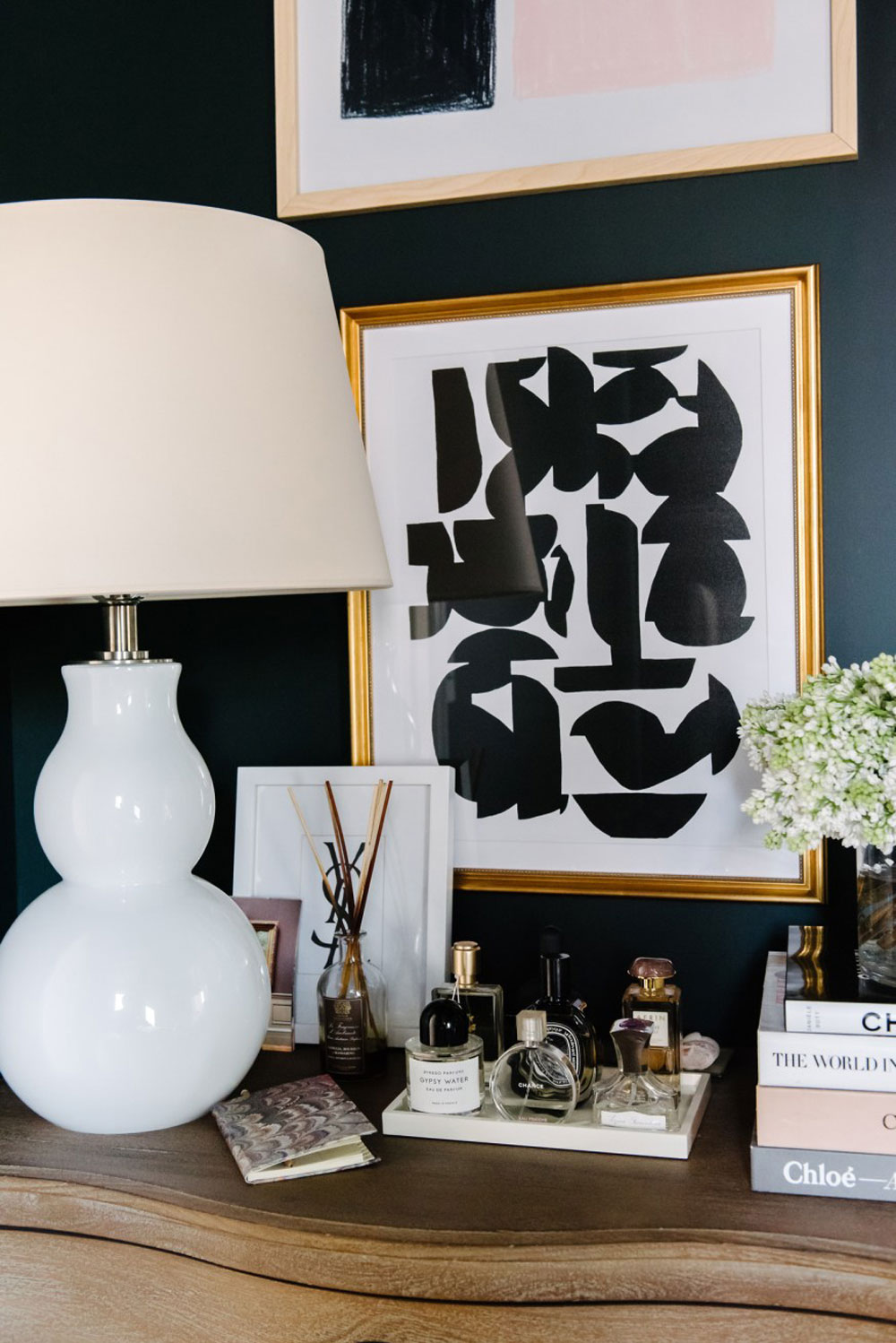 How stunning is this glamorous 2 bedroom New York City apartment? Located in the West Village, this city pad belongs to fashion and travel blogger, Kat Tanita, founder of With Love From Kat. Today I'm taking you on a house tour and showing you 9 easy ways to recreate this glamorous interior design yourself on a budget. Click through to discover more.