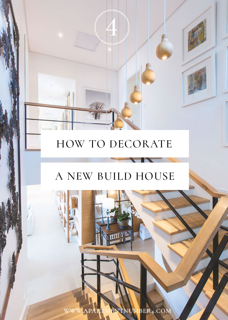 How to decorate a new build house apartment number 4 - Simple design tips to add a spark to your home ...