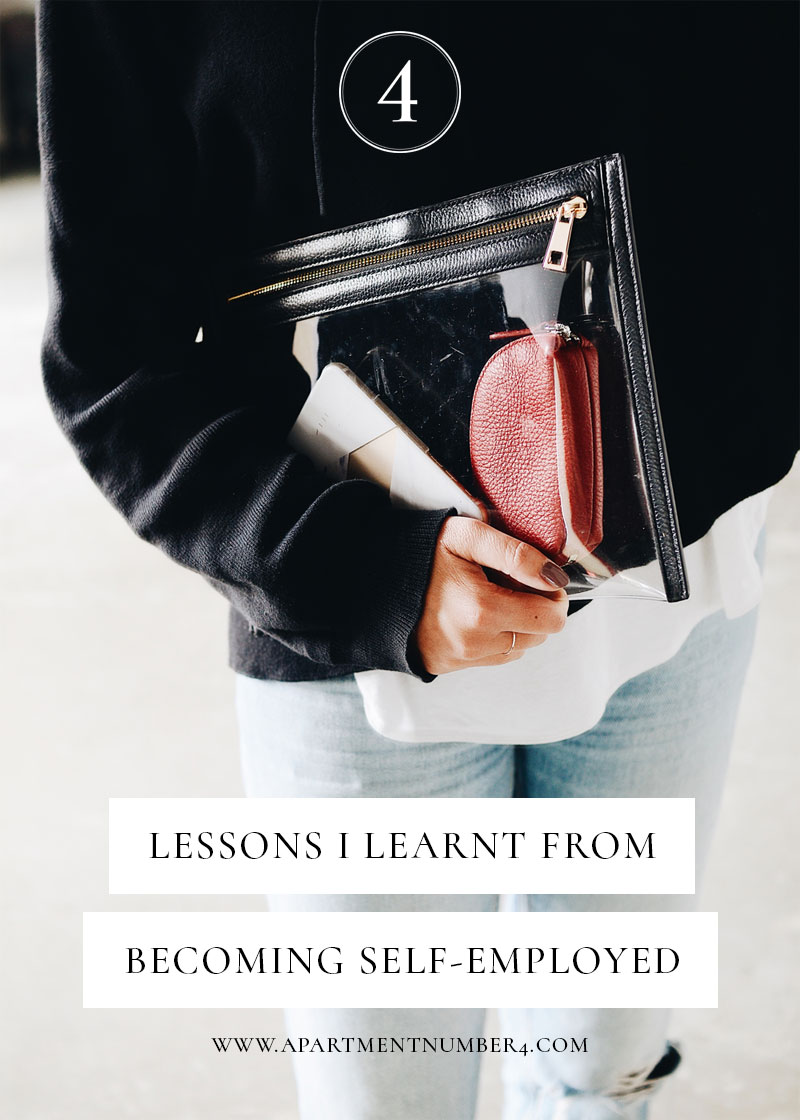 Becoming self-employed can be a scary decision to make. Today I'm sharing the lessons I've learnt since running my blog as a business, including the biggest mistake I made since starting.