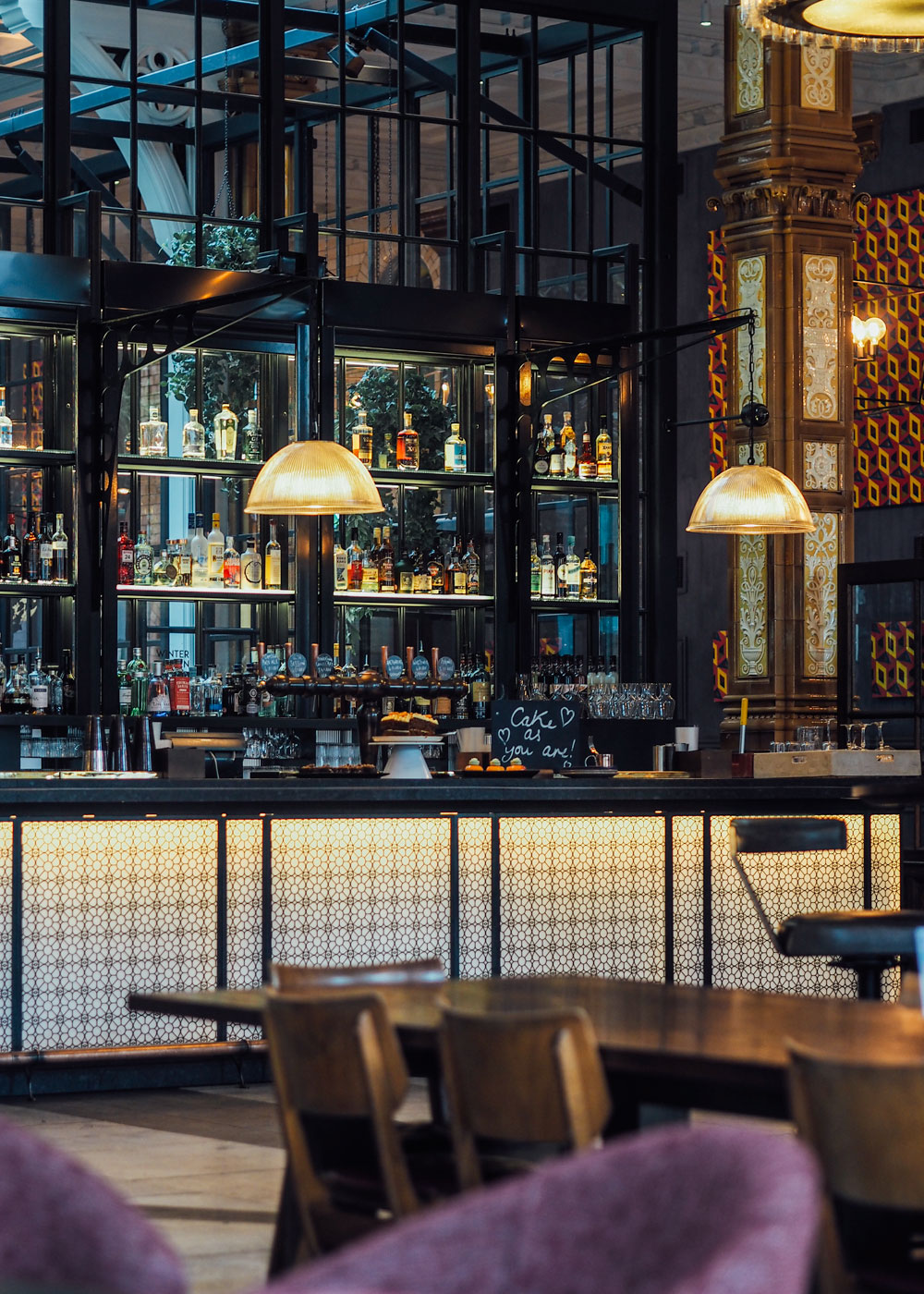 The Grade II Listed Refuge Building in Manchester is now home to The Principal Hotel. I'm showing you some of my interior design highlights from this industrial-inspired five star hotel.