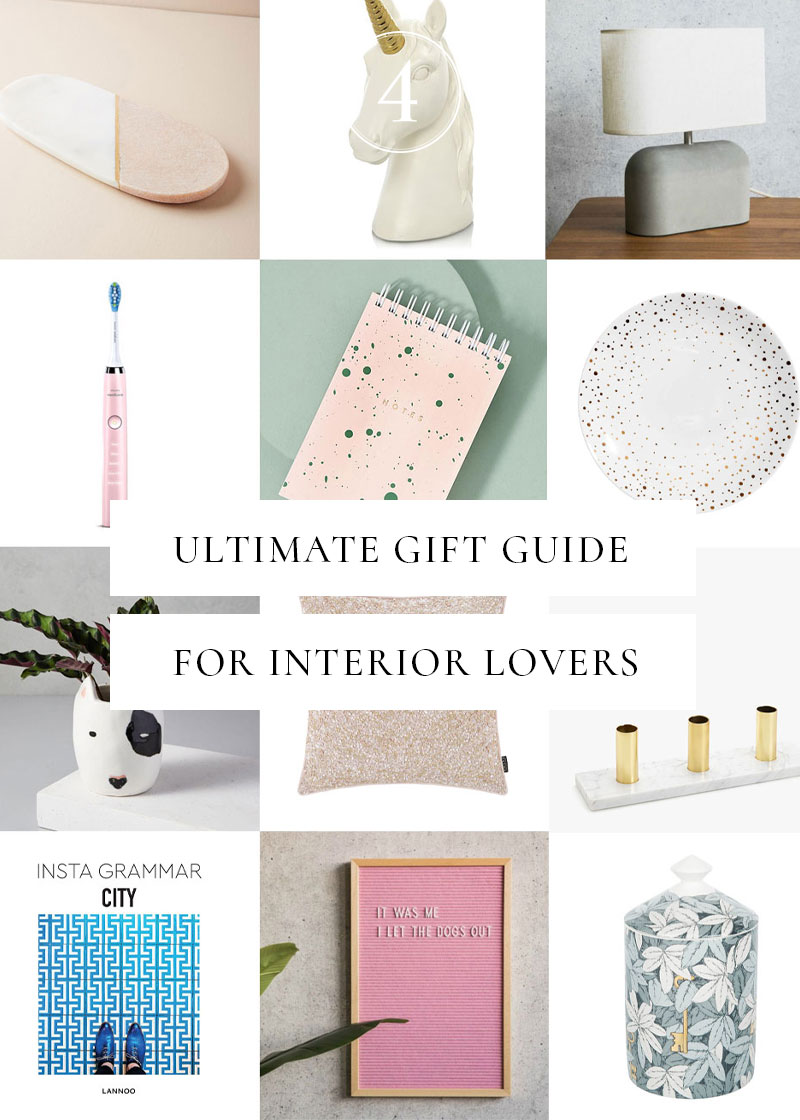 The ultimate Christmas gift guide for interior lovers includes marble soap dishes, dog planters and Fornasetti candles. Come be inspired...