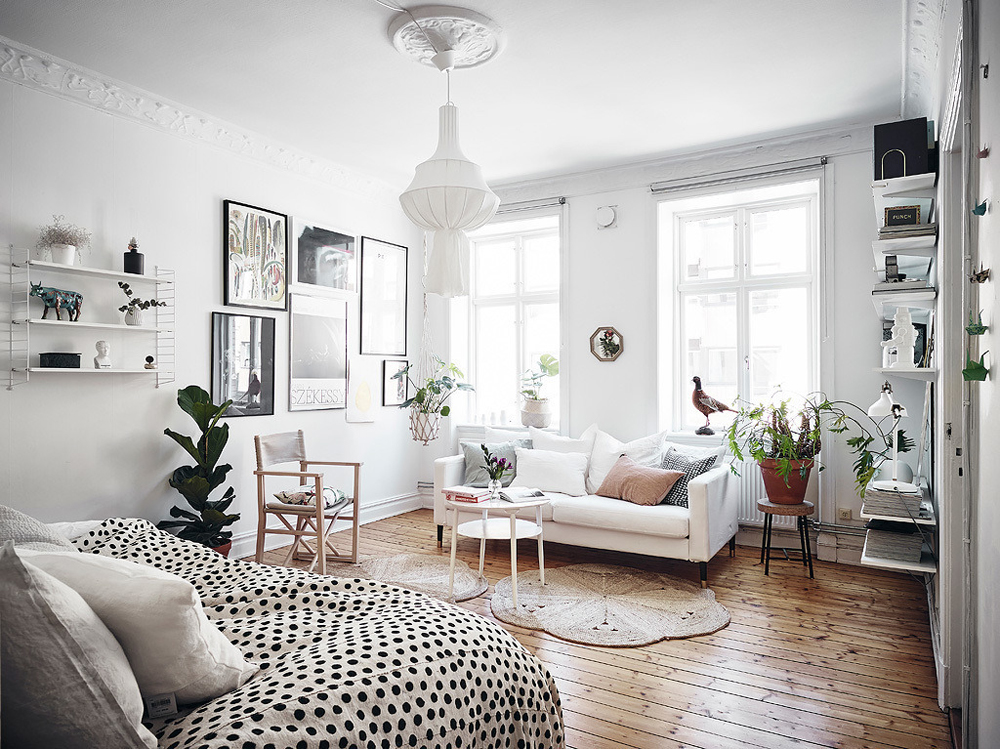 remarkable studio apartment decorating | 15 Stylish Ways To Decorate A Studio Apartment - Apartment ...
