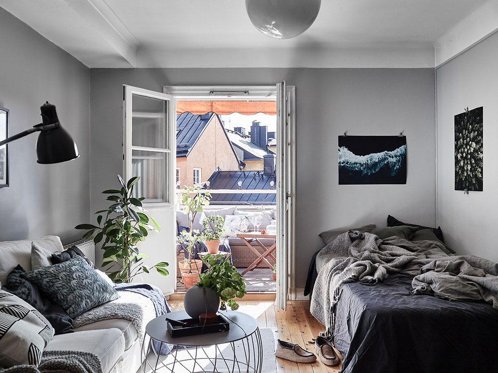 15 Stylish Ways To Decorate A Studio Apartment - Apartment ...