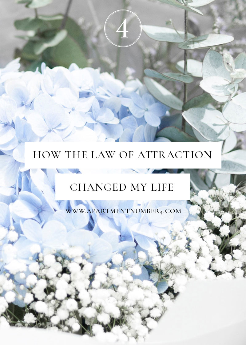 Today I'm sharing how the Law of Attraction changed my life, including creating a vision board that works and explaining what The Secret is.