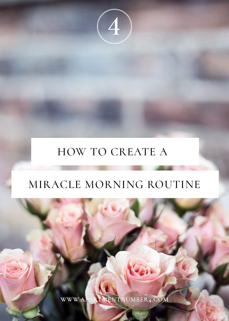 Today I'm sharing my miracle morning routine for success, combining journaling, reading, visualisation, exercise and more to get the day off to the best possible start in just one hour.