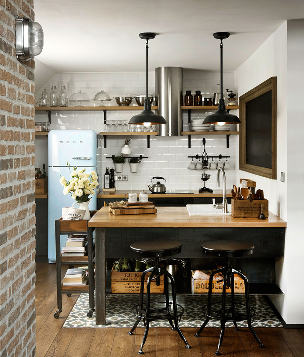 Today I'm sharing a host of interior ideas on decorating a small kitchen on a budget, from storage ideas to decorative ideas.