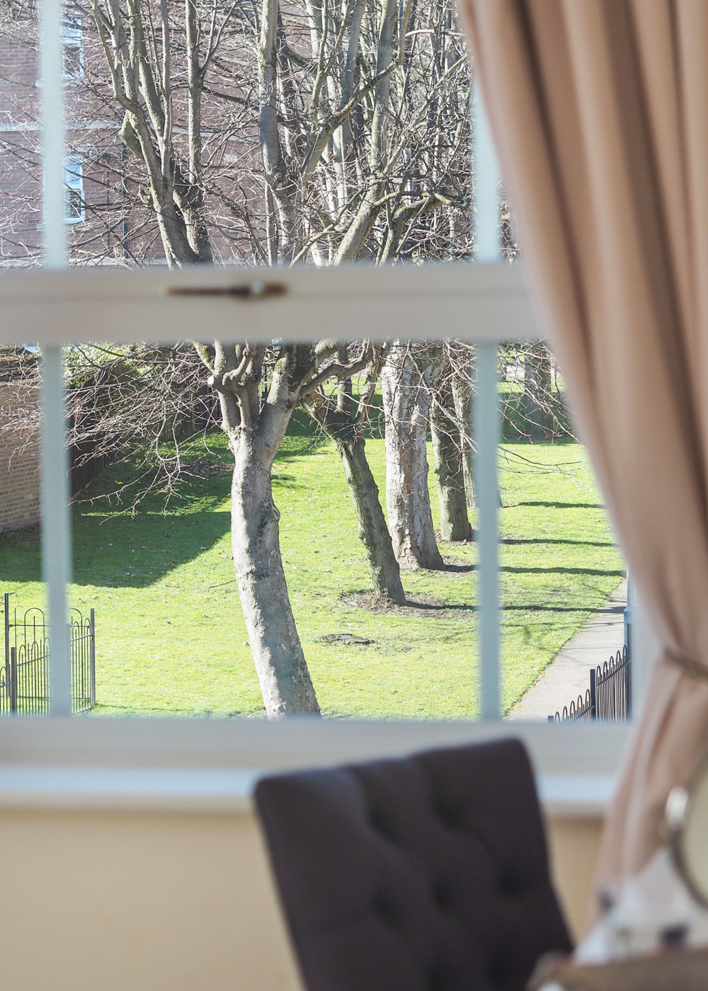 Today I'm sharing how to get privacy from your neighbours with the help of The Window Film Company. In just ten minutes you can create privacy, whilst still allowing natural light to shine through.