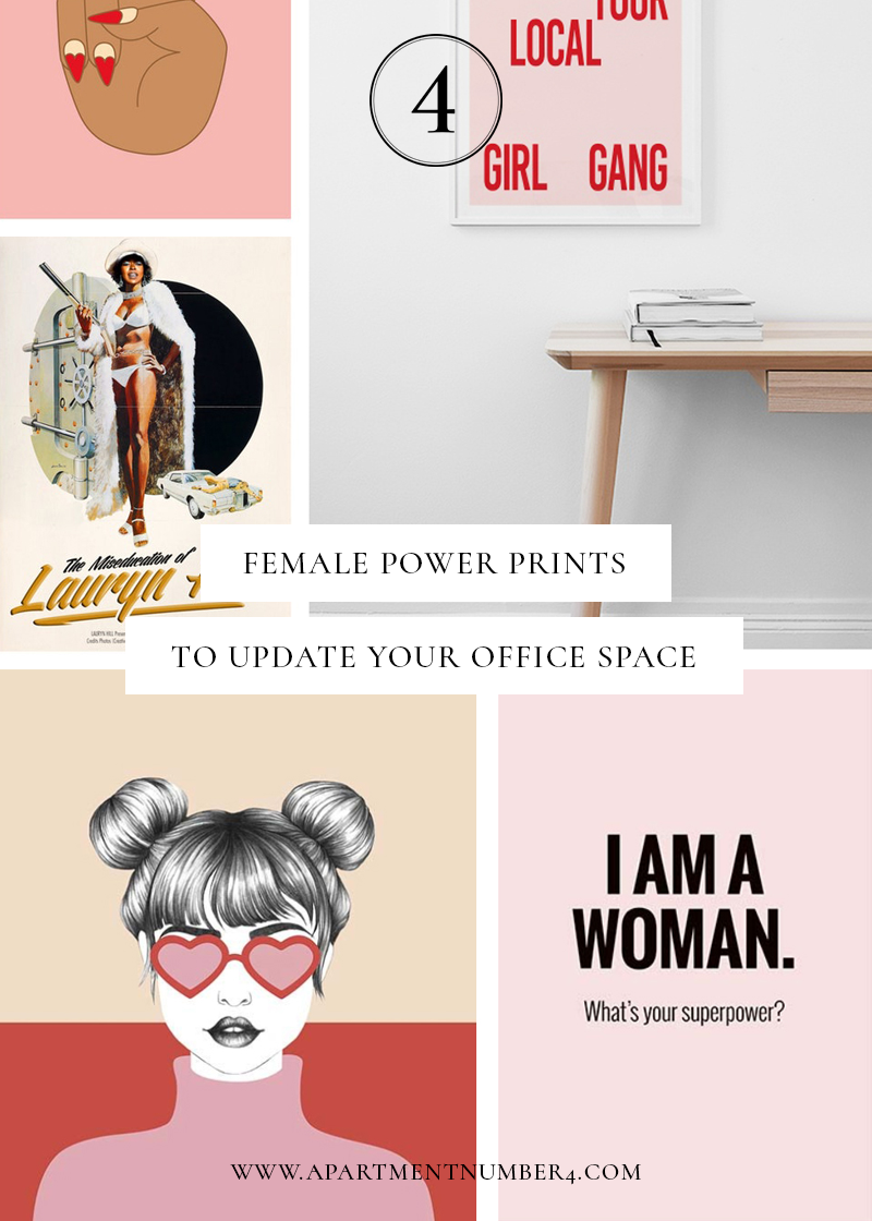 From a gallery wall to the perfect shelfie, create an inspiring office with these female power prints, ranging from £6 to £35. Shop your favourite now.