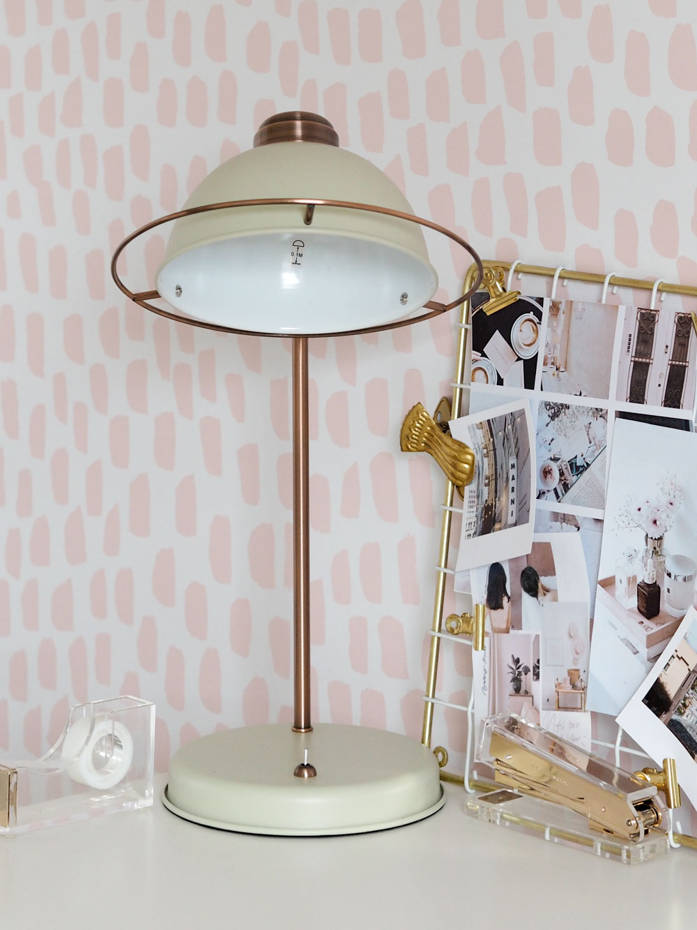 Today I'm sharing my office updates from Studio.co.uk, including a cream Bauhaus lamp and VQ Retro Mini Radio.