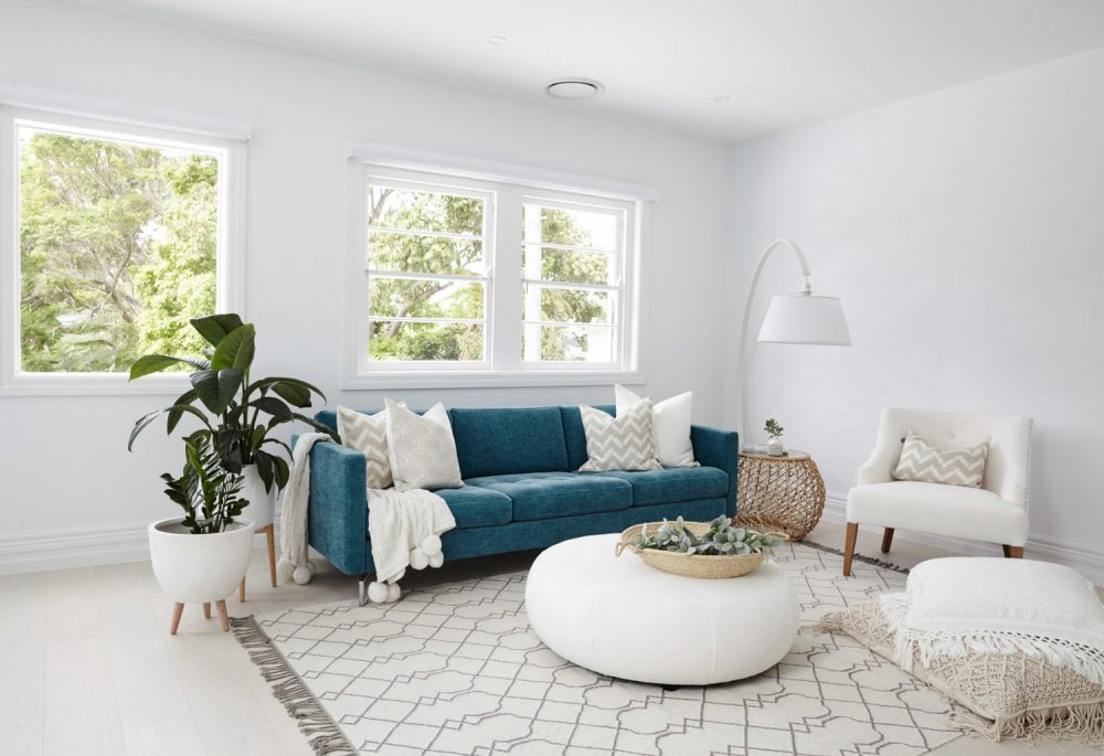 Here's how to decorate a multi-functional room, making the most of open plan living whilst creating different zones within the space.